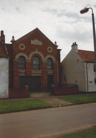 Alkborough Bethel Primitive Methodist chapel