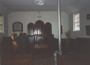 interior of the Little Hale Primitive Methodist chapel | Keith Guyler 1995