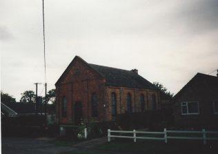 1878 Timberland Primitive Methodist chapel | Keith Guyler 1995