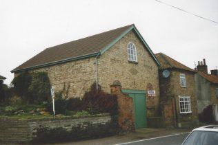 Building identified by Keith Guyler as the 1836 Binbrook Primitive Methodist chapel; in fact it is the former Wesleyan chapel   Keith Guyler 1995