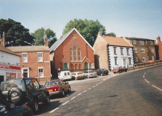 1868 Caistor Westgate  Primitive Methodist chapel   Keith Guyler 1995