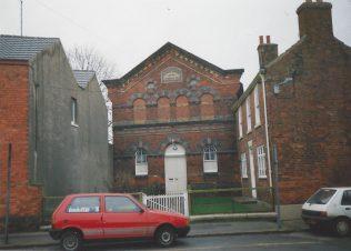 1866 Market Rasen Bridge Street Primitive Methodsit chapel | Keith Guyler 1993