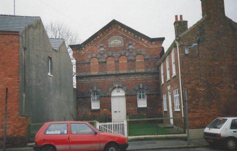 Market Rasen Jameson Bridge Street Primitive Methodist chapel