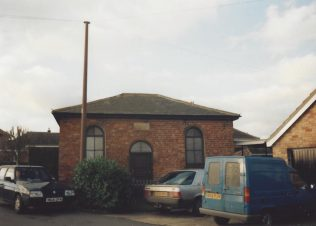 former Alvingham Primitive Methodist chapel on Church Lane: became a garage then The Old Chapel | Keith Guyler 1995