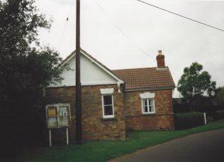 1834 Goulcely Primitive Methodist chapel | Keith Guyler 1995