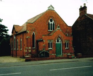 1903 Donington Wesleyan Methodist chapel | Keith Guyler 1991