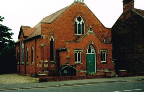 Donington Primitive Methodist chapel