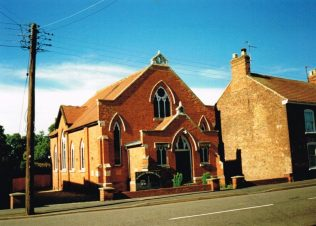 1903 Donington Wesleyan Methodist chapel | Keith Guyler 1995