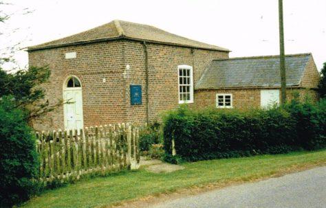 Moulton Seas End Primitive Methodist chapel