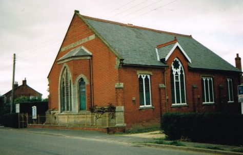 Pinchbeck West Primitive Methodist chapel