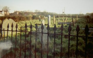 graveyard from former Huttoft Primitive Methodist chapel | Keith Guyler 1994
