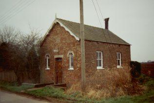1867 Toynton Fen Side Primitive Methodist chapel | Keith Guyler 1994