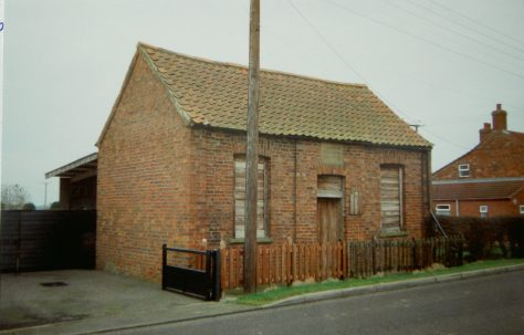 Kirkstead Primitive Methodist chapel