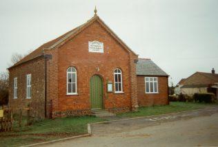 1839 Old Fen Lane Primitive Methodist chapel | Keith Guyler 1995