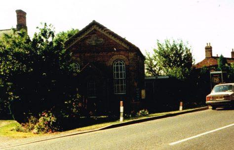 Hubberts Bridge Primitive Methodist chapel
