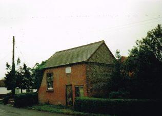 1859 Kirton End Ebenezer Primitive Methodist chapel | Keith Guyler 1995