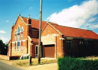 1908 Kirton Skeldyke Primitive Methodist chapel | Keith Guyler 1995