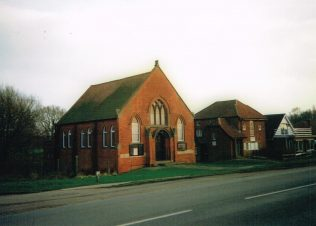 1910 Seathorne/Skegness Bank Primitive Methodist chapel   Keith Guyler 1993