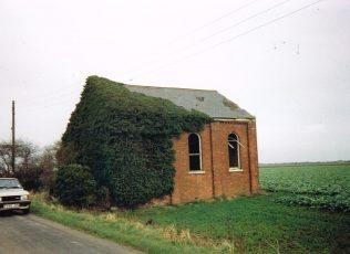 1875 Wrangle Bank Primitive Methodist chapel | Keith Guyler 1994