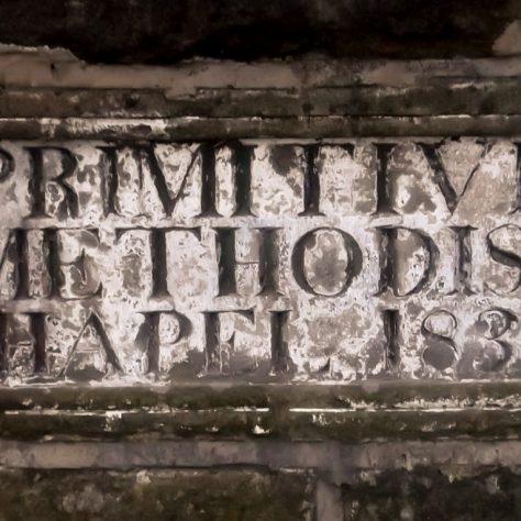 Foundation Stone from 1st Felling PM Chapel, 1833 | Richard Jennings