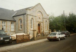 1874 Chelmorton Primitive Methodist Chapel as it was in 1999   Keith Guyler 1999