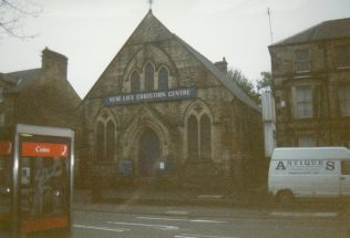1890 Buxton Primitive Methodist Chapel in London Road, as it was in 1999 | Keith Guyler 1999