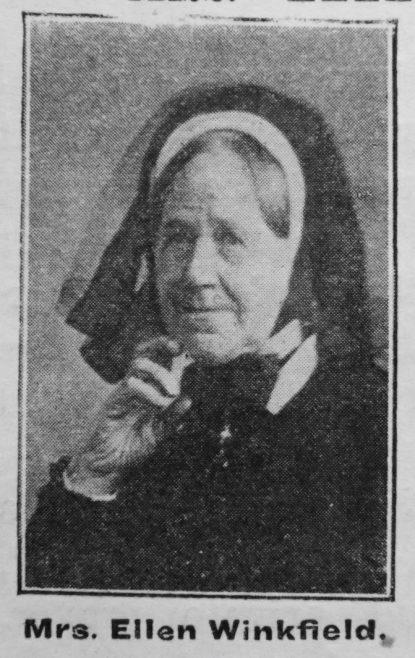 Ellen Winkfield, nee Buskell/Buscall