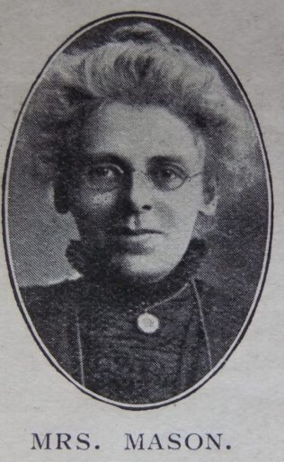 Sarah Elizabeth Mason | Primitive Methodist Magazine 1910