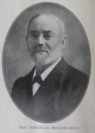 Beckerlegge, Barzillai (1854-1934)