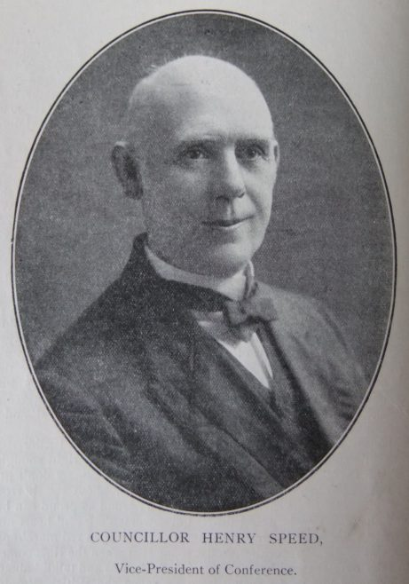 Councillor Henry Speed