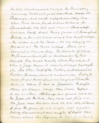 6th page of Harold's article in 'Household Annual' 1916 | Englesea Brook Museum
