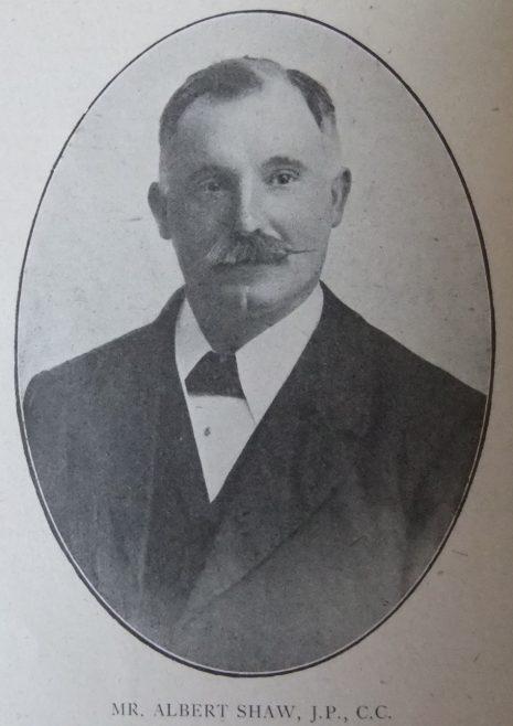 Albert Shaw J.P. C.C.