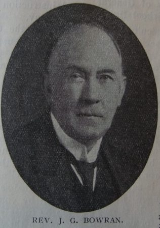Bowran, John George (1869-1946) | Primitive Methodist Magazine 1932