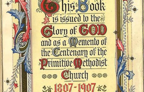 Centenary of Primitive Methodism, 1807-1907