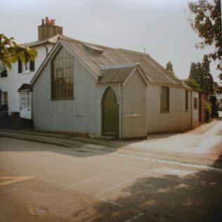 1883 Bushey Heath Primitive Methodist chapel   Keith Guyler 1984