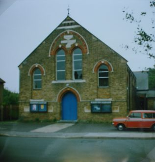 1892 Croxley Green Primitive Methodist chapel   Keith Guyler 1992