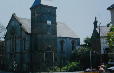 Watford Queens Road Primitive Methodist chapel
