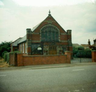 1910 Sandy Girtford Primitive Methodist Chapel | Keith Guyler 1984