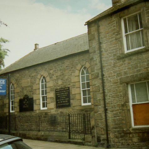 1869 Corbridge Primitive Methodist Chapel in the Market Place as it was in 1996 | Keith Guyler 1996