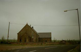 1903 Allerdean Primitive Methodist Chapel as it was in 1996, soon after it closed in the early 1990s | Keith Guyler 1996