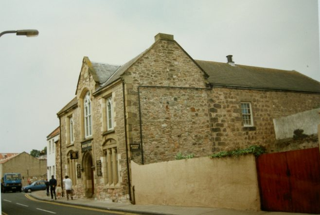 Berwick-on-Tweed Primitive Methodist Chapel, built for the Wesleyans in 1797, as it was in 1996 | Keith Guyler 1996