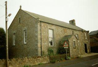 1860 Lowick Jubilee Primitive Methodist Chapel as it was in 1996 | Keith Guyler 1996