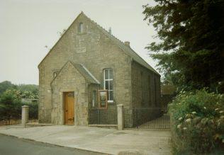 1886 Scremerston; The Primitive Methodist Brown Memorial Chapel as it was in 1996 | Keith Guyler 1996
