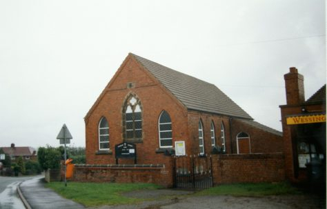 Wessington Primitive Methodist chapel