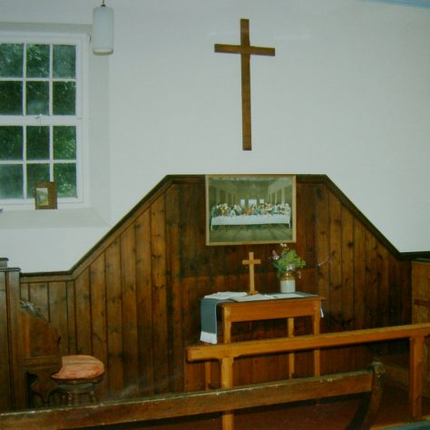 interior Brailsford Primitive Methodist chapel (now thought to be Mill Dale, see comment below) | Keith Guyler 1998