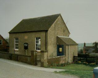 1821 Hulland (Bourne) Primitive Methodist Chapel as it was in 1987 | Keith Guyler 1987