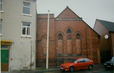Huthwaite Primitive Methodist chapel