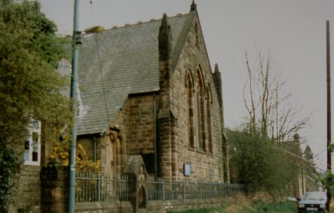 Crich Carr Primitive Methodist chapel on Mount Pleasant Top Lane