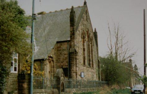 Crich Carr Primitive Methodist chapel on Mount Pleasant Top Lane