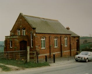 1909 Cross o' th' Hands Primitive Methodist Chapel as it was in 1987 | Keith Guyler 1987